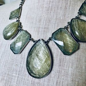 New York & Company Jewelry - New York and Company Glass Statement Necklace